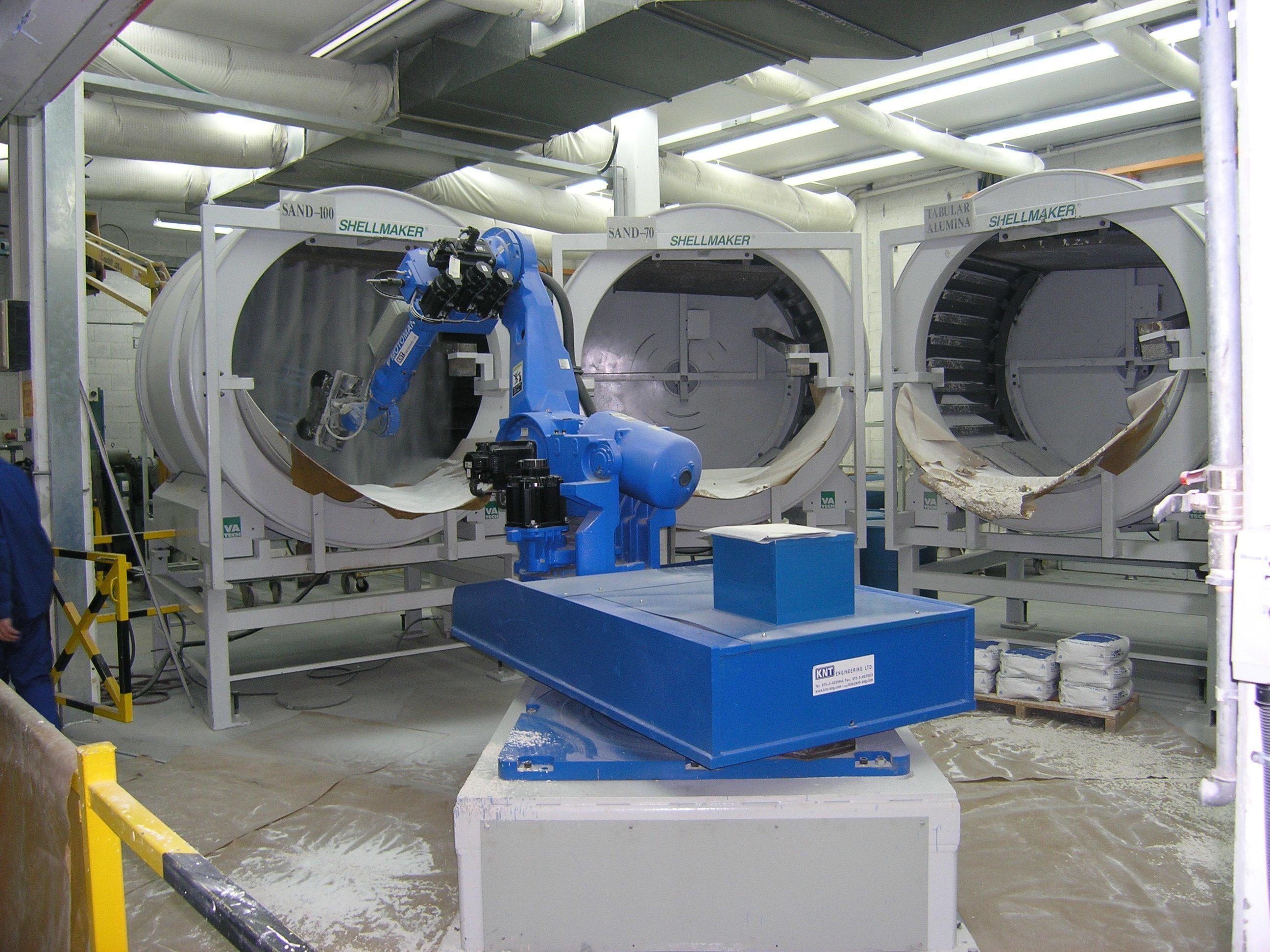 רובוט תומך במכונות - אוטמציה