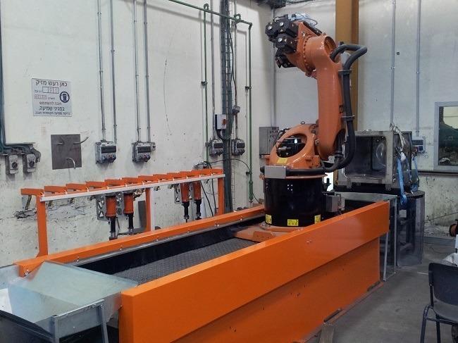 מכונת ליטוש - רובוט