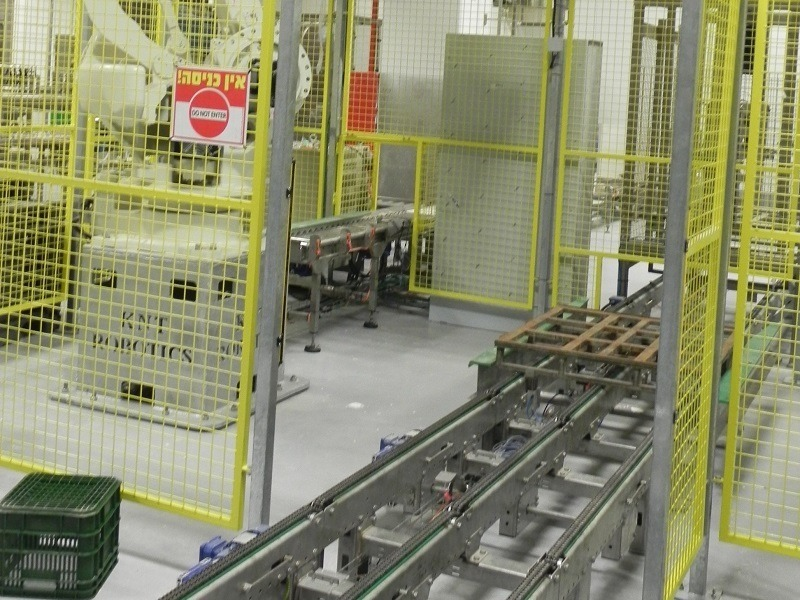 מסוע על שרשרת למפעלים